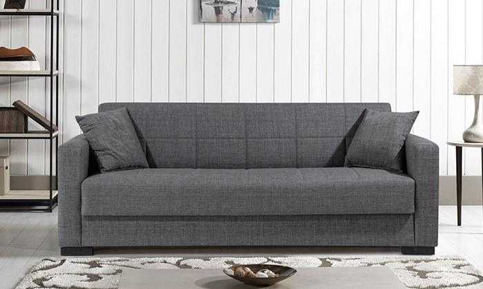 2 ספה תלת מושבית נפתחת