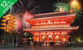 טיול 9 ימים ליפן, כולל סילבסטר