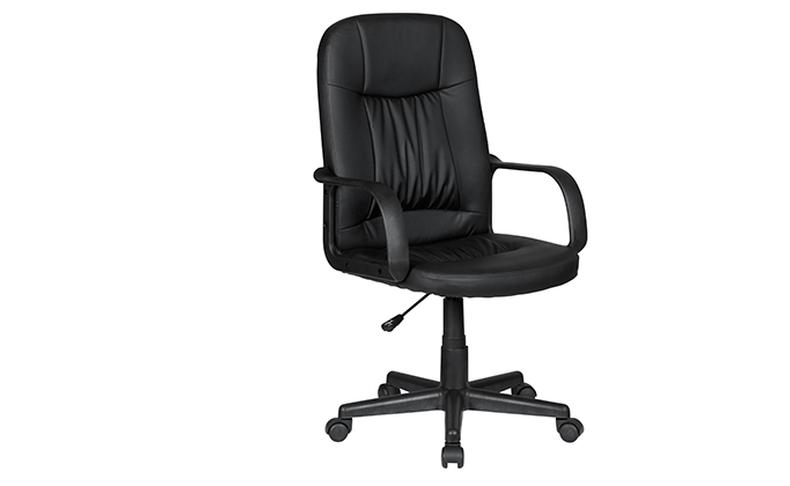 כיסא מנהלים דמוי עור