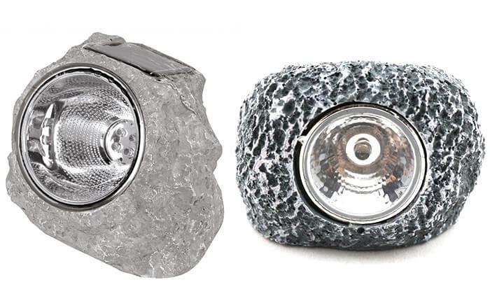פנטסטי תאורה סולארית בתוך סלע | גרו (גרופון) XZ-85