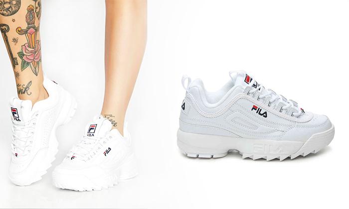 2 נעלי סניקרס לנשים פילה FILA Disruptor