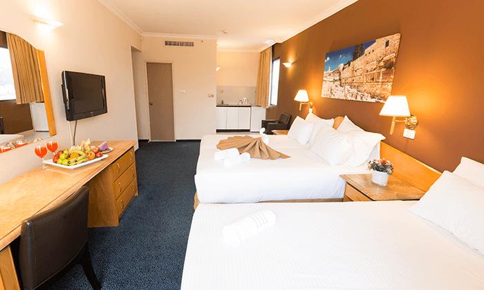 5 חופשה זוגית אורבנית בגני ירושלים - מלון וספא