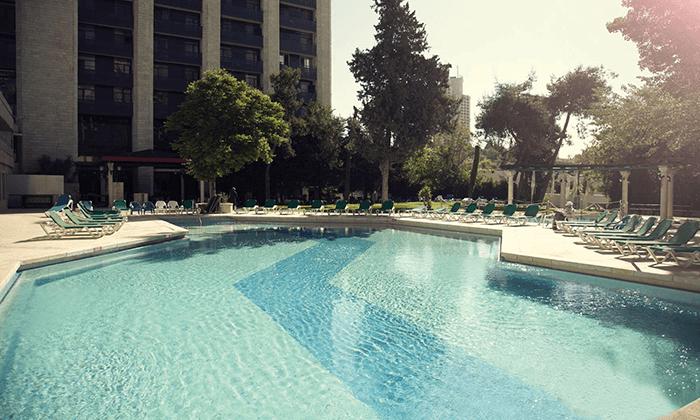 10 חופשה זוגית אורבנית בגני ירושלים - מלון וספא