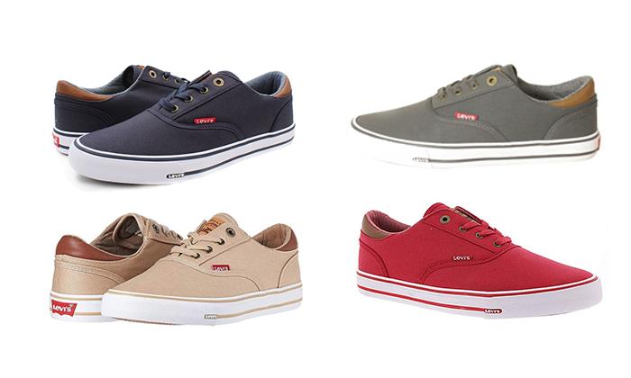 2 נעלי סניקרס לגברים ליוויס LEVI'S