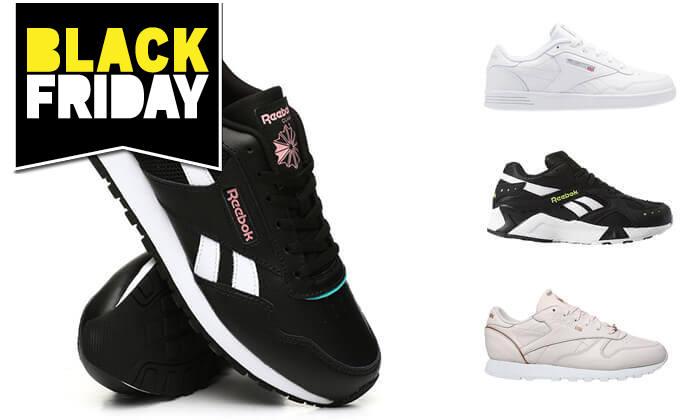 34 נעלי סניקרס Reebok לנשים ונוער