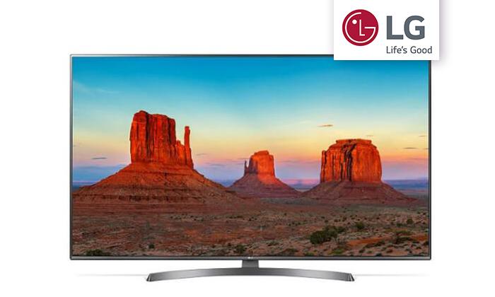 3 טלוויזיה חכמה 4K LG, מסך 75 אינץ'