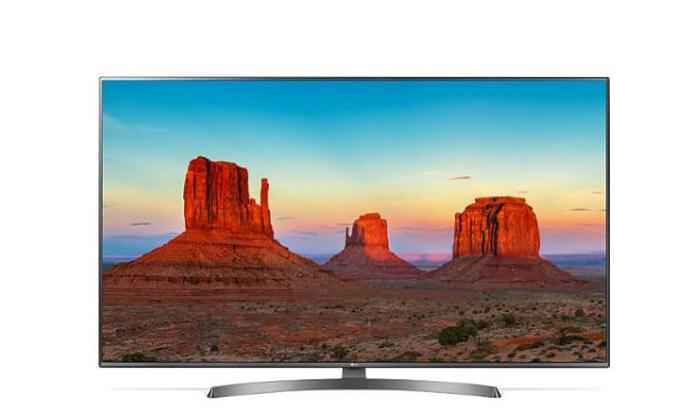 4 טלוויזיה חכמה 4K LG, מסך 75 אינץ'