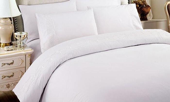 16 סט מצעים למיטת יחיד או למיטה זוגית