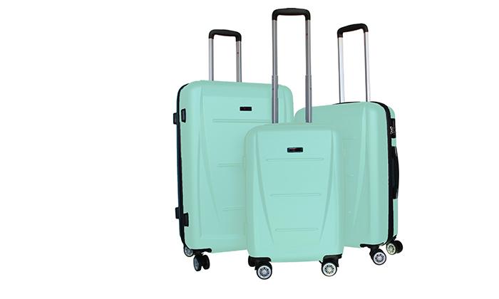 12 סט 3 מזוודות קשיחותSWISS