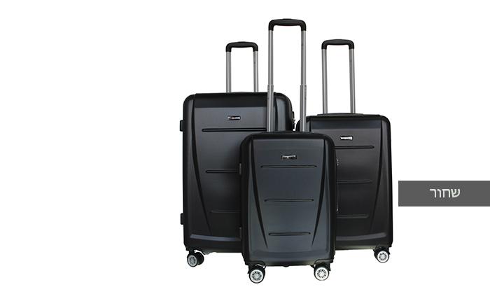5 סט 3 מזוודות קשיחותSWISS