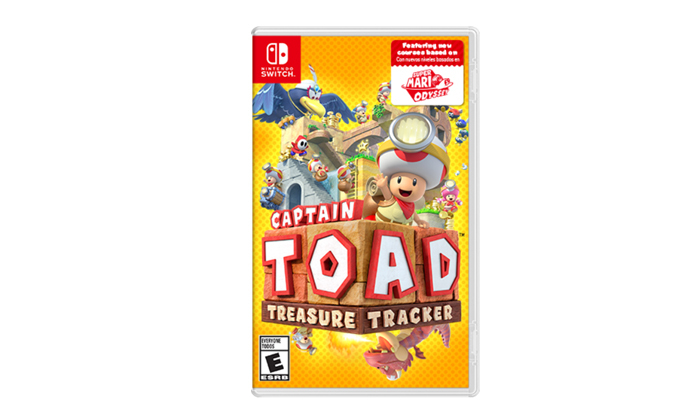 משחק וידאו Captain Toad