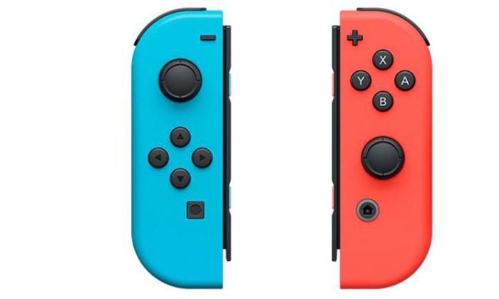 זוג בקרים אלחוטיים Joy-Con לקונסולת Nintendo Switch