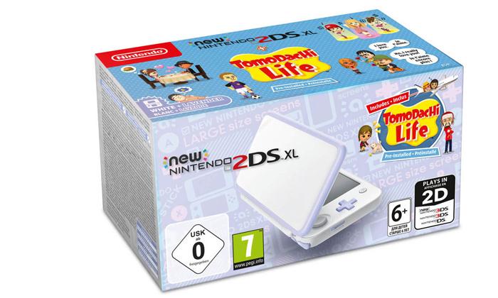 קונסולה New Nintendo 2DS XL כולל משחקTomodachi Life