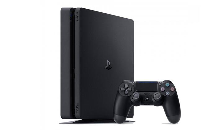 2 קונסולת משחק פלייסטיישן Playstation 4 Slim כולל משחק מתנה