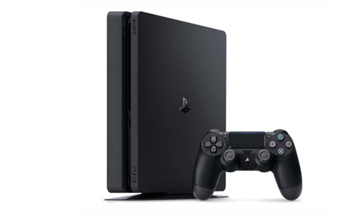 4 קונסולת משחק פלייסטיישן Playstation 4 Slim עם FIFA 20