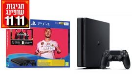 קונסולת משחק PS 4 עם משחק