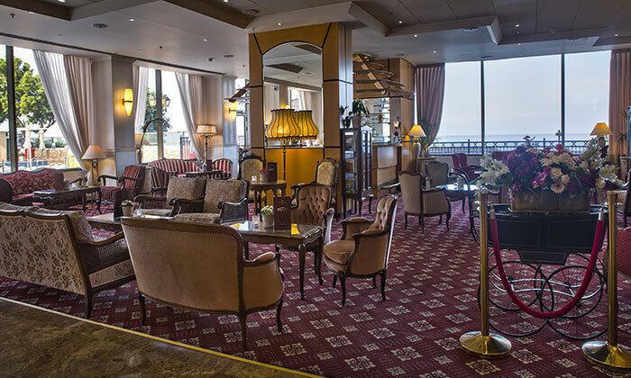 5 מלון העונות נתניה, כולל עיסוי/סרט/חמי געש
