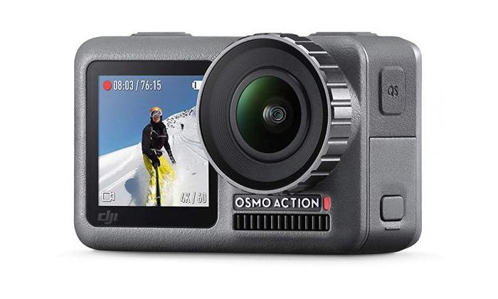 2 מצלמת אקשן DJI Osmo