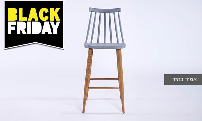 5 כיסא בר עם משענת גב