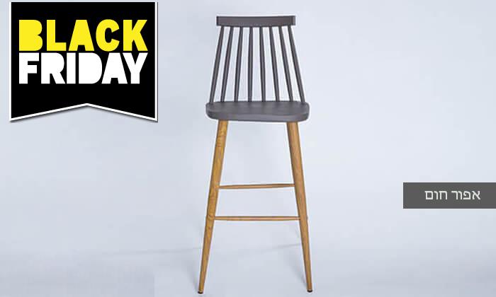 8 כיסא בר עם משענת גב