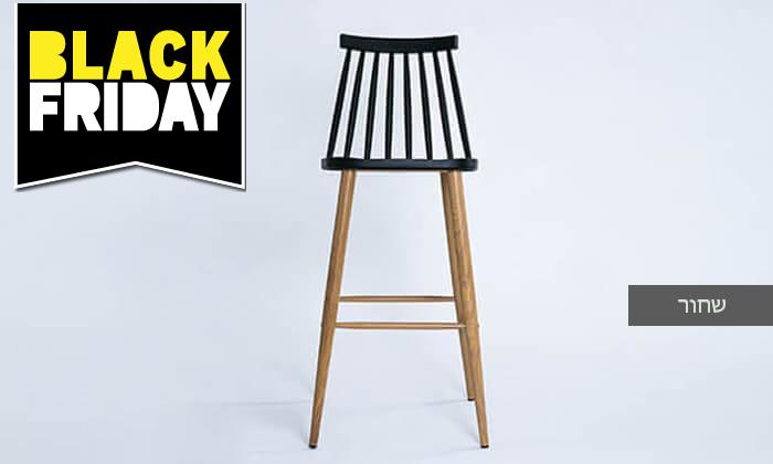 14 כיסא בר עם משענת גב