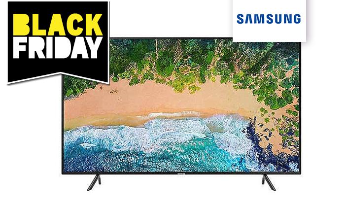 4 טלוויזיה חכמה 4K SAMSUNG עם מסך 43 אינץ'