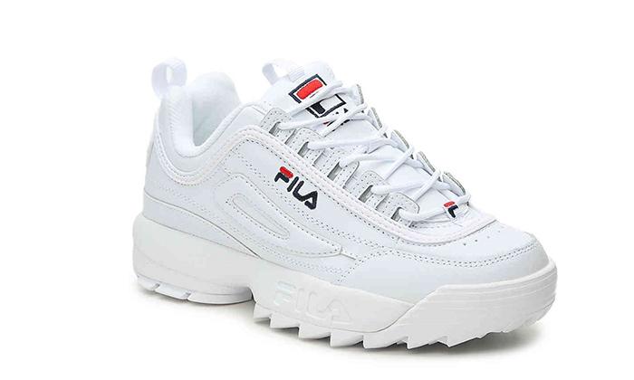 3 נעלי סניקרס לנשים פילה FILA Disruptor
