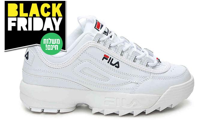 7 נעלי סניקרס לנשים פילה FILA Disruptor - משלוח חינם לזמן מוגבל