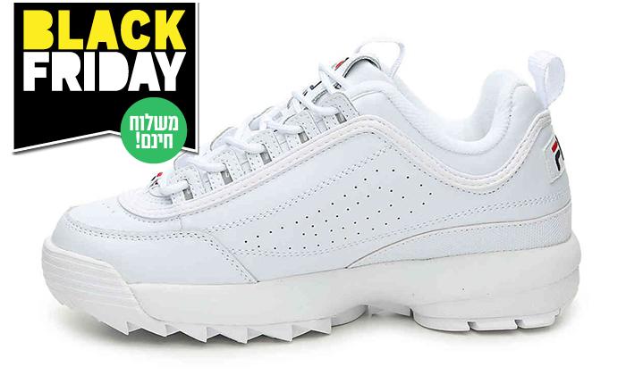 9 נעלי סניקרס לנשים פילה FILA Disruptor - משלוח חינם לזמן מוגבל