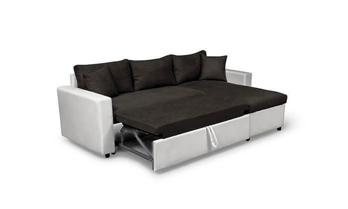 8 מערכת ישיבה פינתית נפתחת למיטה