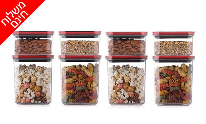 6 סט 8 קופסאות אחסון TWIST IT של FOOD APPEAL - משלוח חינם