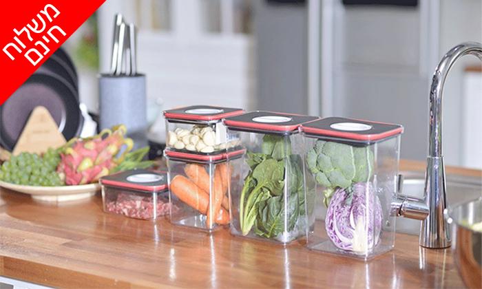 3 סט 8 קופסאות אחסון TWIST IT של FOOD APPEAL - משלוח חינם