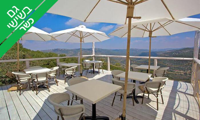 2 מסעדת פיצ'ונקה הכשרה בנס הרים - ארוחה זוגית