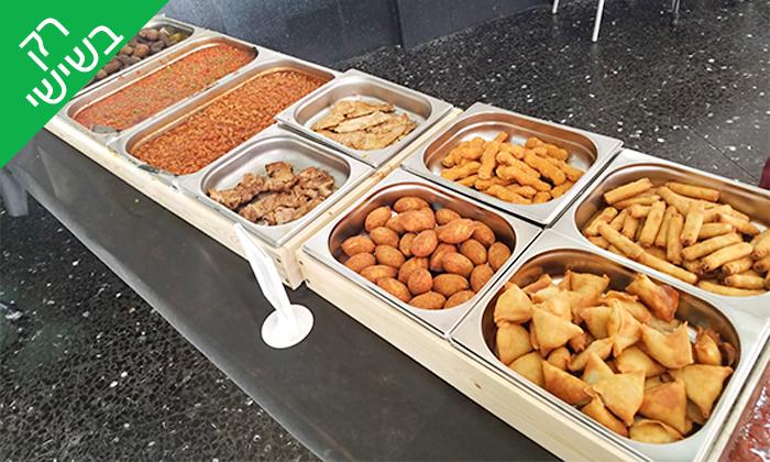 3 שובר הנחה לקניית אוכל מוכן ממסעדת הגריל הלוהט הכשרה, תל אביב
