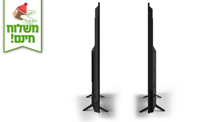 3 טלוויזיה 4K SMART Peerless, מסך 55 אינץ' - משלוח חינם