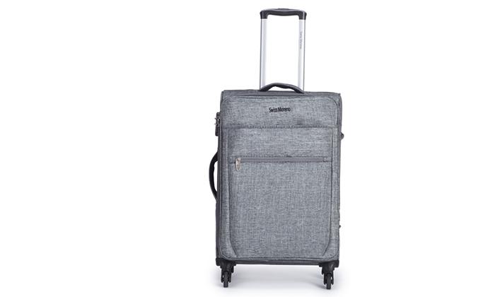 7 סט שלוש מזוודות רכות SWISS