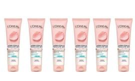 6 יח' ג'ל ניקוי פנים L'Oréal