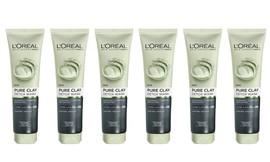 6 תרחיץ חימר לפנים L'Oréal