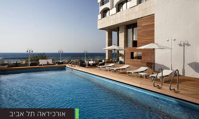 5 יום כיף וספא במגוון בתי מלון ברחבי הארץ, כולל כרטיס רגיל או VIP לסינמה סיטי