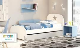 מיטת ילדים דגם ניירובי עם מזרן