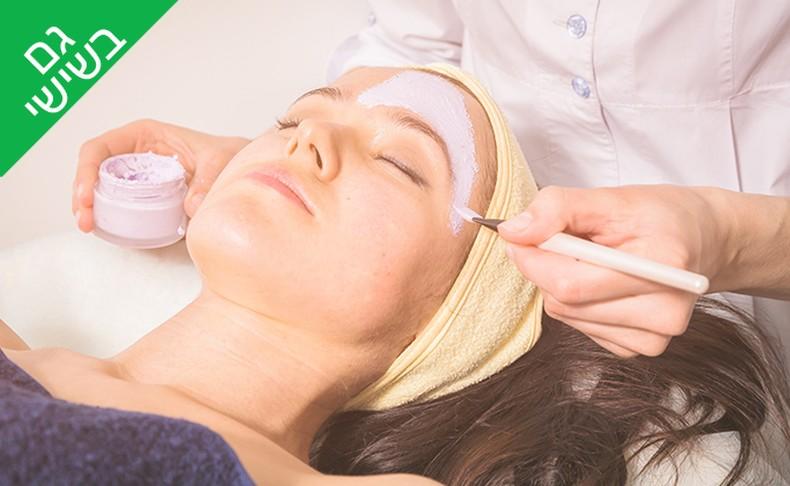 טיפול פנים לעור בוגר