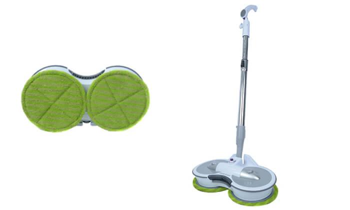 2 מכשיר לניקוי רצפות ופרקט - משלוח חינם!