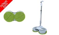 מכשיר חשמלי לניקוי רצפות ופרקט