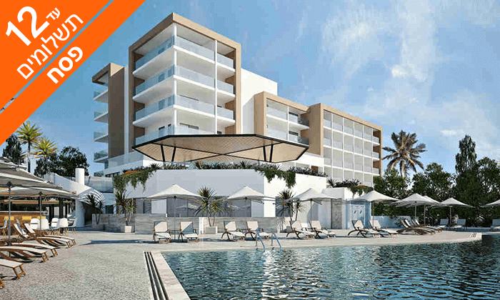 4 פסח בקפריסין - מלון Leonardo Crystal Cove למבוגרים בלבד