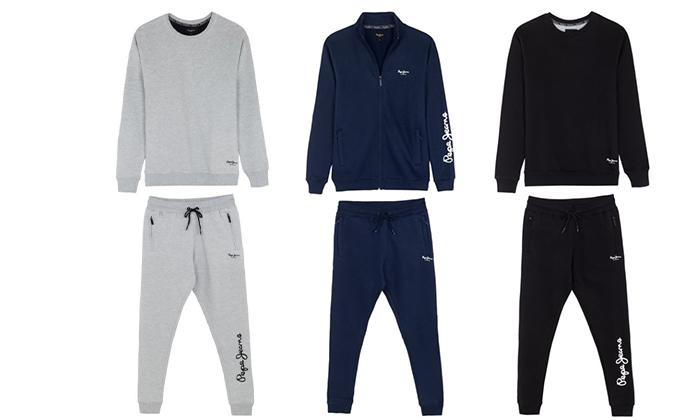 3 חליפת טרנינגלגברים Pepe Jeans London