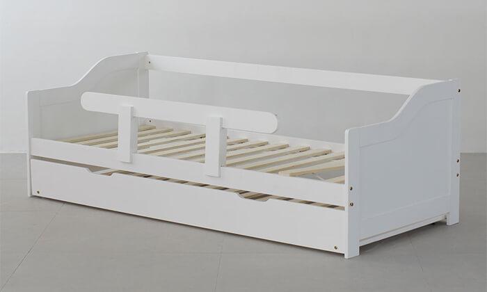 4 מיטת ילדים מעץ מלא TUTTI