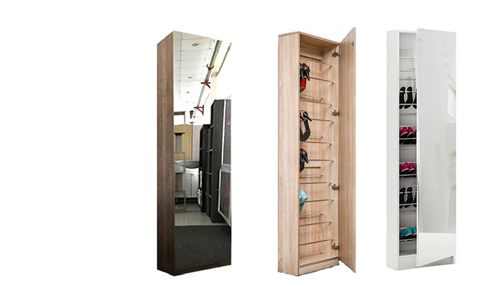 2 דיל ל-48 שעות: ארון נעליים עם דלת מראה Homax