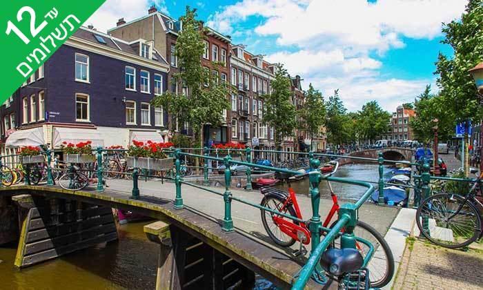 """5 סופ""""ש והופעה: אנדראה בוצ'לי באמסטרדם"""