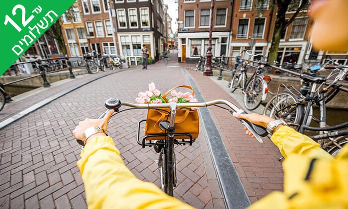 """6 סופ""""ש והופעה: אנדראה בוצ'לי באמסטרדם"""