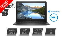 מחשב נייד Dell מסך מגע